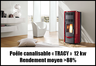 Palazzetti Tracy canalisable